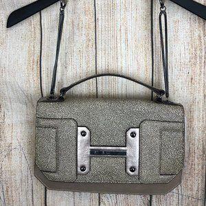 Halston Heritage Evening shoulder leather bag